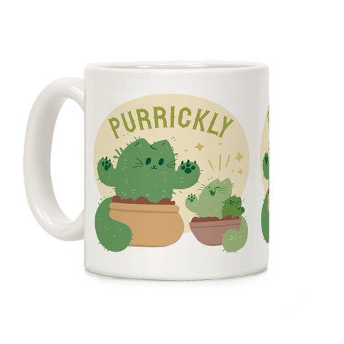 Purrickly! Coffee Mug