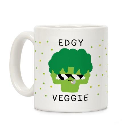 Edgy Veggie Coffee Mug