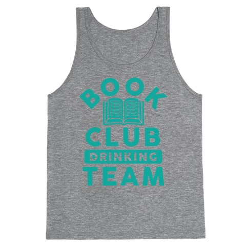 Book Club Drinking Team Tank Top
