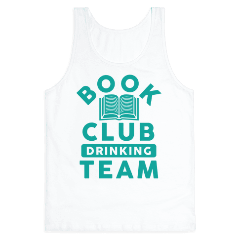 Book Club Drinking Team Tank Top