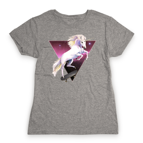 Rad North Unicorn Nebula Womens T-Shirt