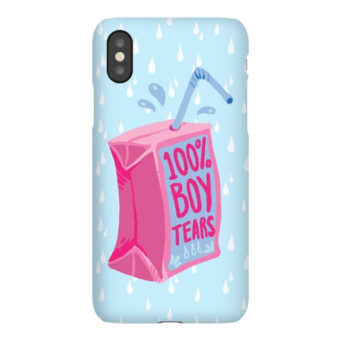 100% Boy Tears Phone Case