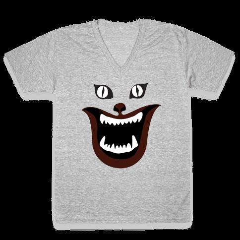 House Cat V-Neck Tee Shirt