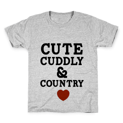 Cute Cuddly & Country Kids T-Shirt