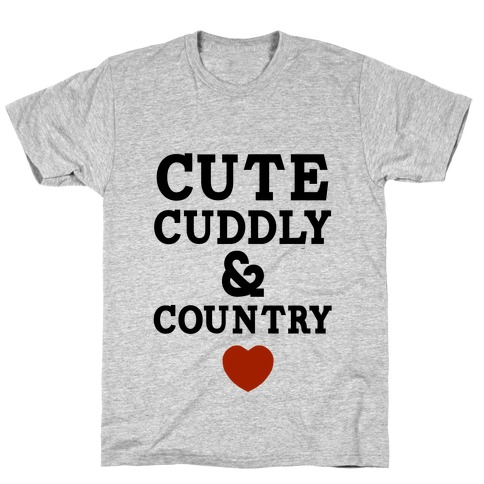 Cute Cuddly & Country Mens T-Shirt
