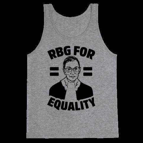 Rbg For Equality Tank Top