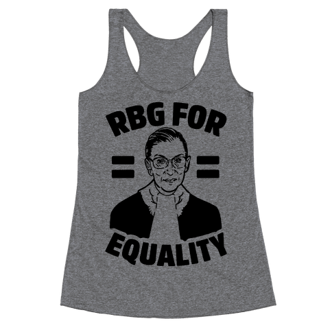 Rbg For Equality Racerback Tank Top