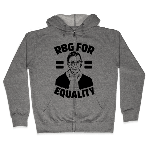 Rbg For Equality Zip Hoodie