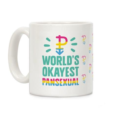 World's Okayest Pansexual Coffee Mug
