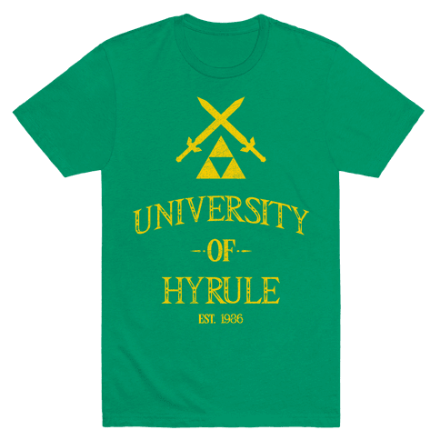 University of Hyrule Mens T-Shirt