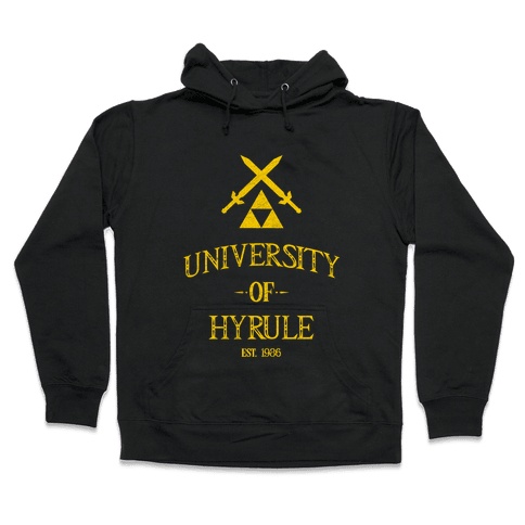 University of Hyrule Hooded Sweatshirt