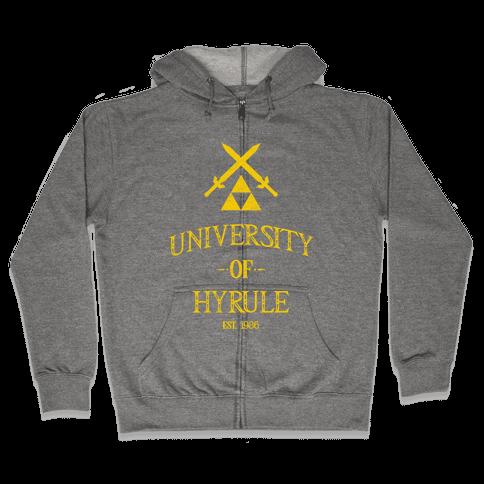 University of Hyrule Zip Hoodie