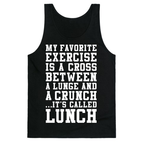 Lunge Crunch Lunch Tank Top