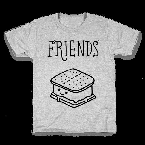 Best Friends Campfire 2 Kids T-Shirt
