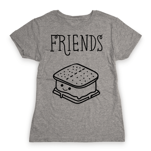 Best Friends Campfire 2 Womens T-Shirt