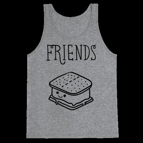 Best Friends Campfire 2 Tank Top