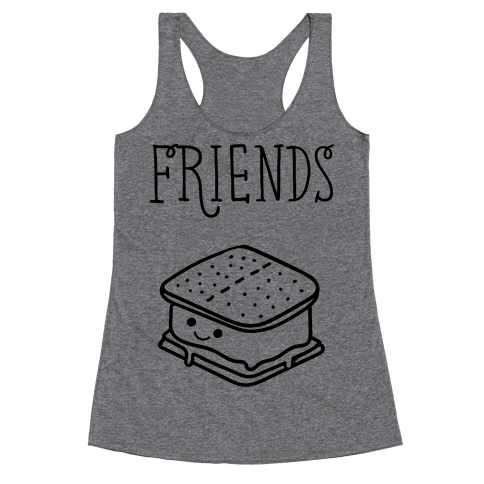 Best Friends Campfire 2 Racerback Tank Top