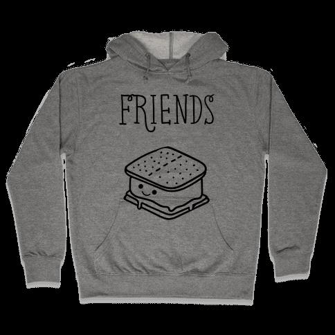 Best Friends Campfire 2 Hooded Sweatshirt