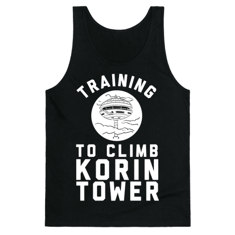 Training To Climb Korin Tower Tank Top