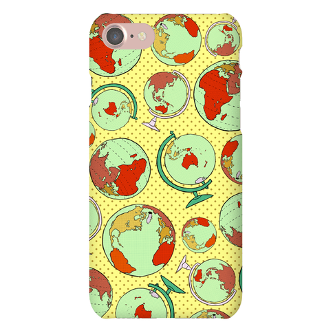 Wanderlust World Map Phone Case