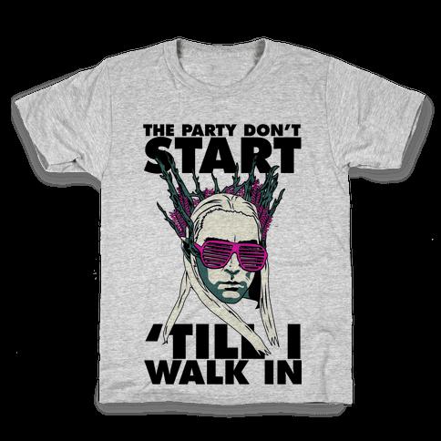 Thranduil Elvish Lord of the Party Kids T-Shirt