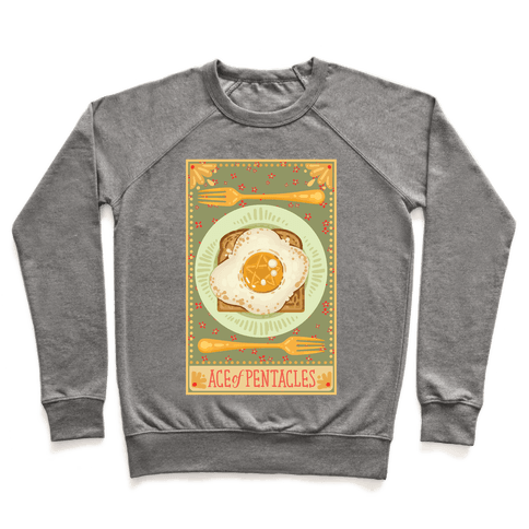 Tarot Card: The Egg Of Pentacles Pullover