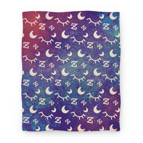 Cosmic Sleep Pattern Blanket