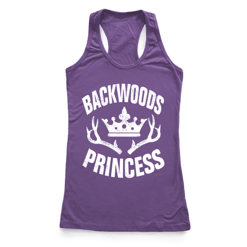 Backwoods Princess Racerback Tank Top
