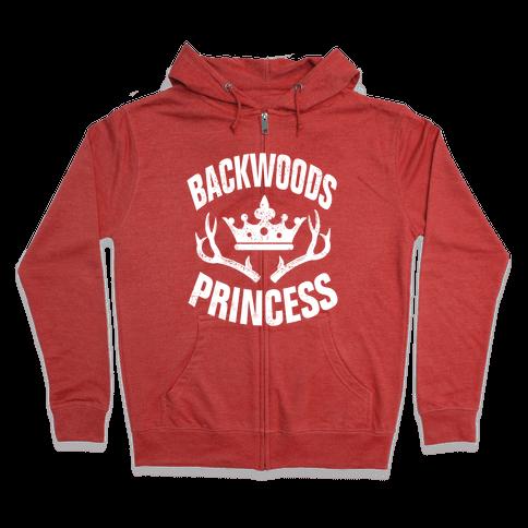 Backwoods Princess Zip Hoodie
