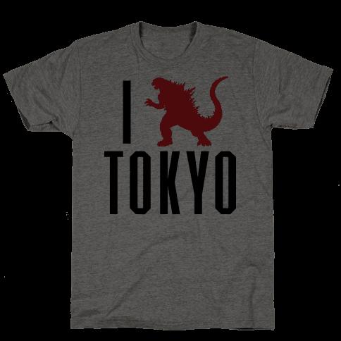 I Love Tokyo (Godzilla)