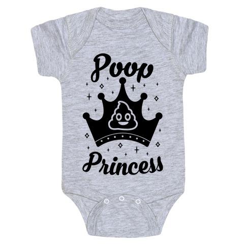 Poop Princess Baby Onesy