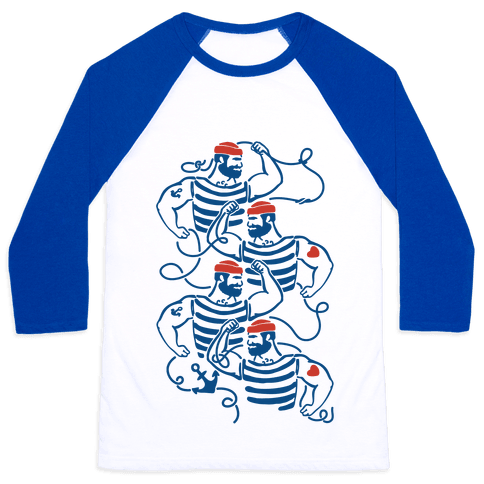 Knotty Sailors Baseball Tee