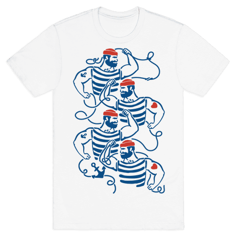 Knotty Sailors Mens T-Shirt