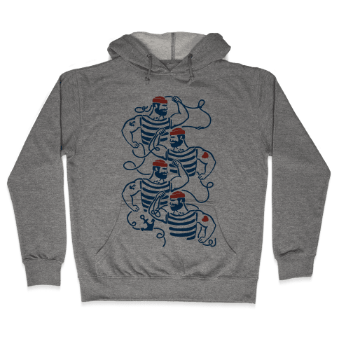 Knotty Sailors Hooded Sweatshirt