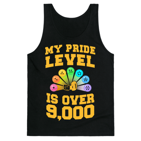 My Pride Level is Over 9,000 Tank Top