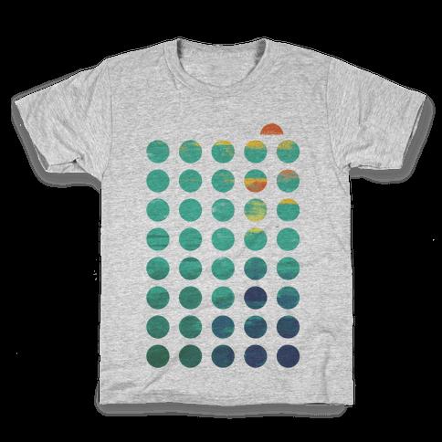 Circles of Summer Kids T-Shirt
