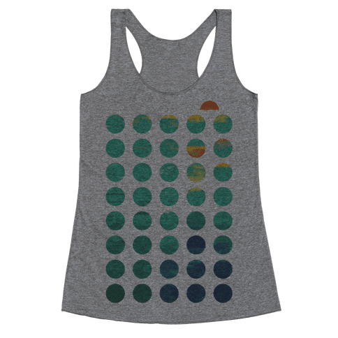 Circles of Summer Racerback Tank Top