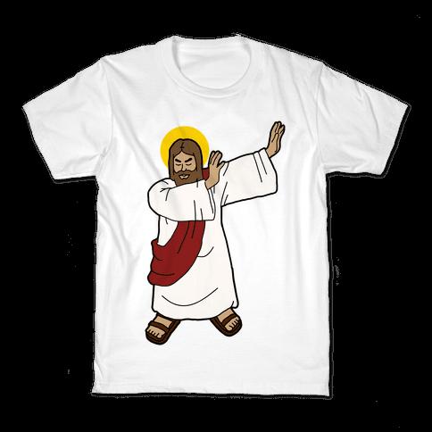 Dabbing Jesus Kids T-Shirt