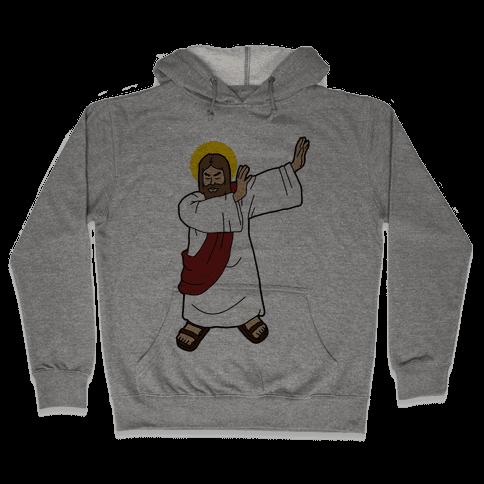 Dabbing Jesus Hooded Sweatshirt
