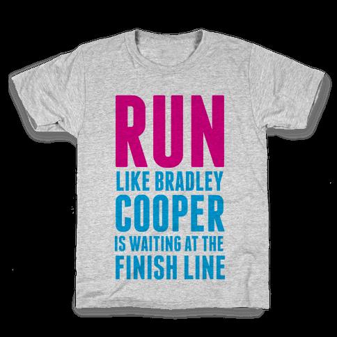 Run Like Bradley Cooper Kids T-Shirt
