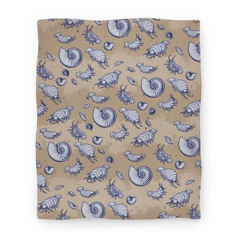 Giant Isopod Pattern Blanket Blanket