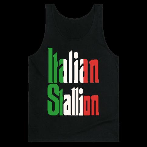 Italian Stallion Tank Top