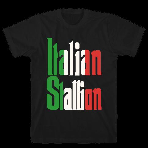 Italian Stallion Mens T-Shirt