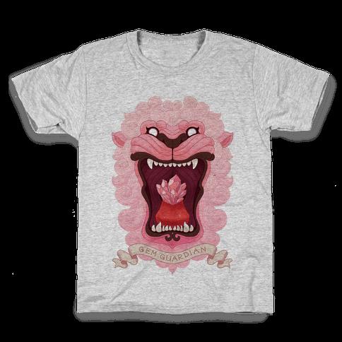 Gem Guardian Lion Kids T-Shirt