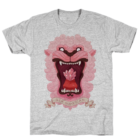 Gem Guardian Lion Mens T-Shirt