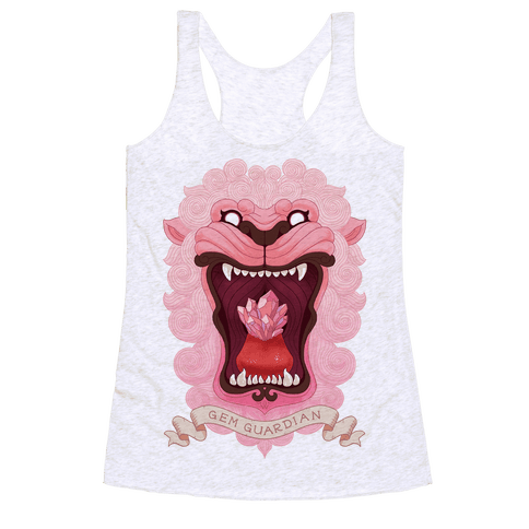 Gem Guardian Lion Racerback Tank Top