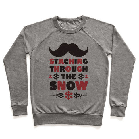 Staching Through the Snow Pullover