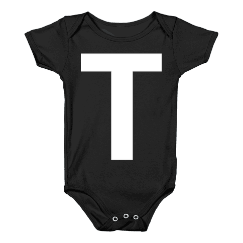 Optical T-llusion Baby Onesy