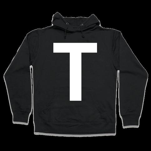 Optical T-llusion Hooded Sweatshirt