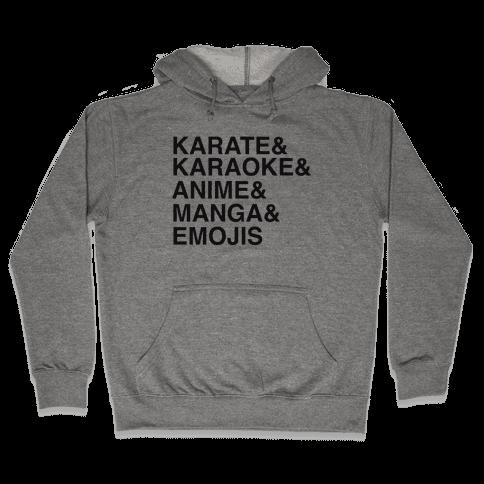 Thanks Japan Love Obama Hooded Sweatshirt